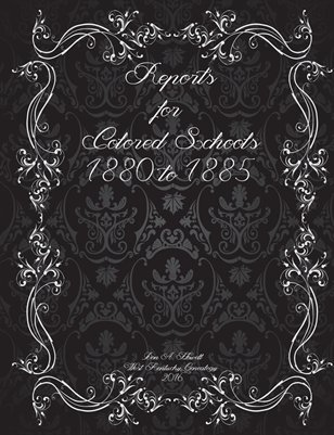 1880-1885 Reports for Colored Schools in Graves County, Kentucky