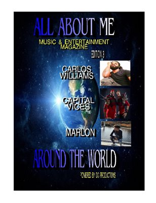 All About ME Around the World Music & Entertainment Magazine Edition 3