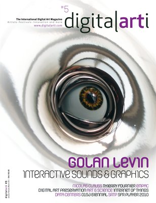 The international Digital Art quarterly magazine. Issue 5, Q1 2011
