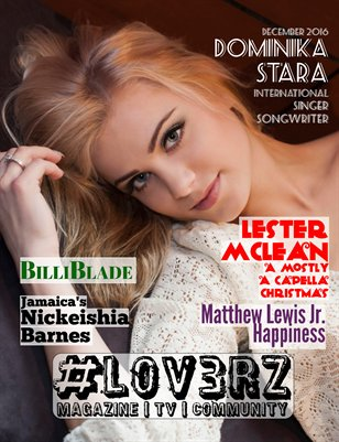 #LOV3RZ Independent Music Magazine December 2016