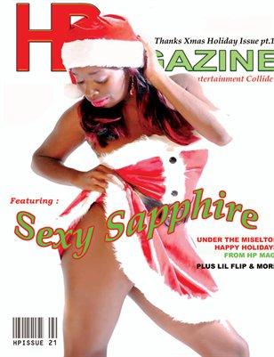 Hp Magazine 21 Sapphire cover