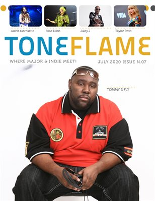 ToneFlame Magazine July 2020