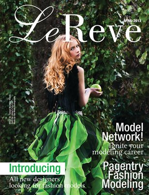 Le Reve Magazine April issue