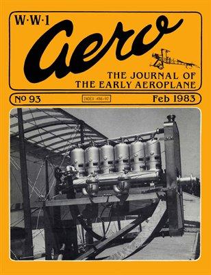 WW1 Aero #93 - February 1983