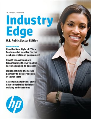 HP Industry Edge: US Public Sector edition