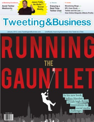 Tweeting & Business magazine - Jan 2012