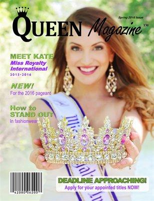 2016 Spring QUEEN Magazine