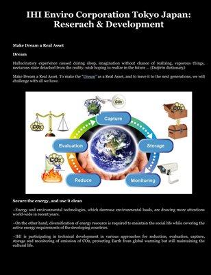 IHI Enviro Corporation Tokyo Japan: Reserach & Development