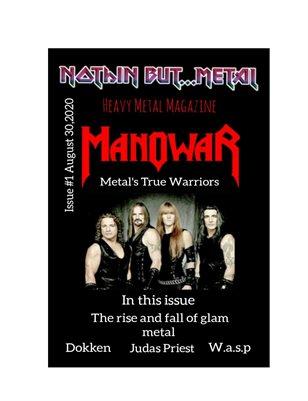 Nothin But....Metal Issue 1 Manowar