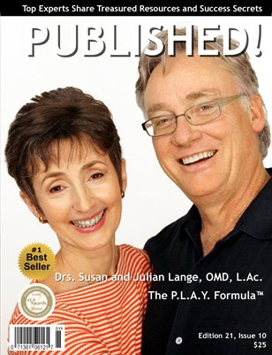 PUBLISHED! Excerpt featuring Drs. Susan and Julian Lange, OMD, L.Ac.