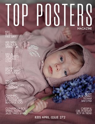 TOP POSTERS MAGAZINE - KIDS APRIL (VOL 272)