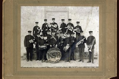 NOVEMBER 1920 KENTUCKY STATE BAND, FRANKFORT, KENTUCKY