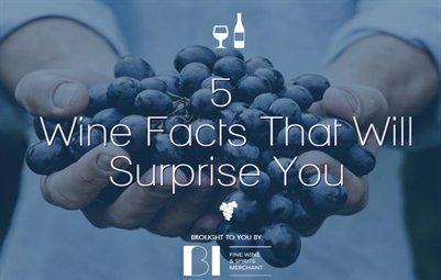 5 Wine Facts That Will Surprise You