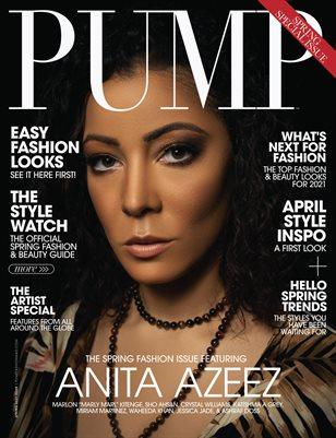 PUMP Magazine | The April Fashion & Beauty Edition | Vol.3 | 2021
