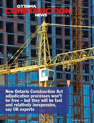 Ottawa Construction News (May 2019