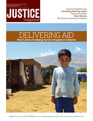 Justice Magazine; The Catholic Social Justice Quarterly - Autumn 2013