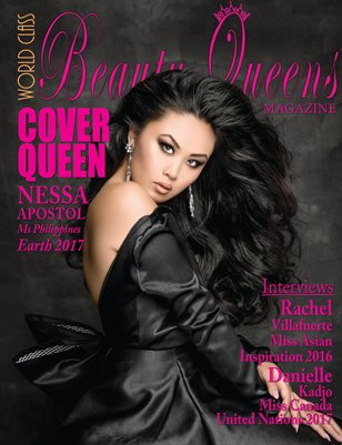 World Class Beauty Queens Magazine with Nessa Apostol