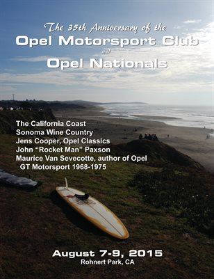 2015 Opel Nationals