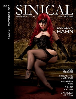 Sinical August 2016 - Ludella Hahn