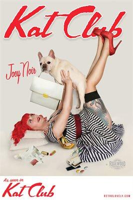 Kat Club No.47 – Joey Noir Cover Poster