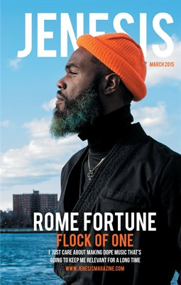 JENESIS Magazine Issue 58 Featuring Rome Fortune