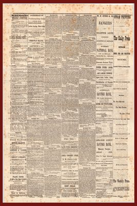 (PAGES 3-4) JUNE 12, 1875 THE DAILY PRESS NEWSPAPER, ADRIAN MICHIGAN