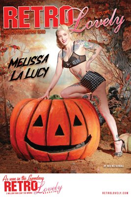 Melissa La Lucy Halloween Cover Poster