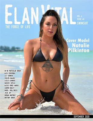 EVM4 Swimsuit Issue Natalie Cover