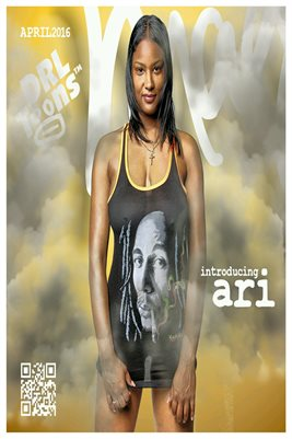 "Ari ""April 2016 Marley"" Poster 12"" x 18"""