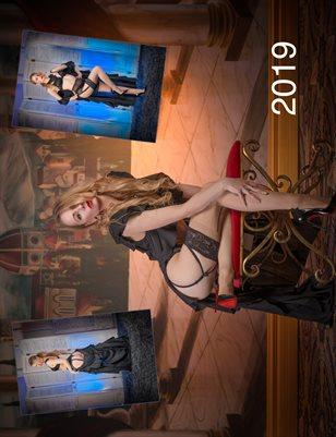 The RussianQueenM Calendar '19 Lingerie