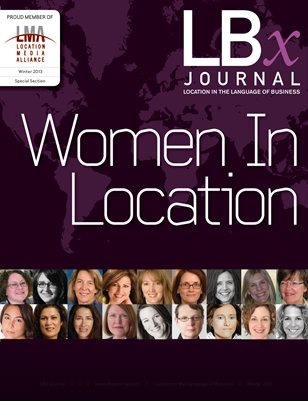 Women in Location Feature 2013
