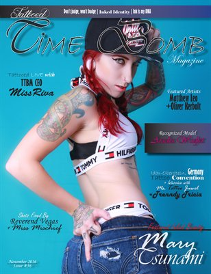 Tattooed Time Bomb Magazine, Issue #36