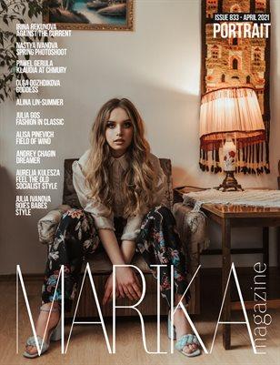 MARIKA MAGAZINE PORTRAIT (ISSUE 833 - APRIL)