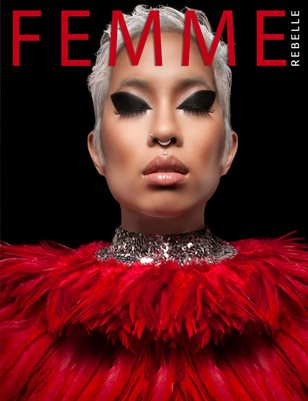 Femme Rebelle Magazine MAY 2017 - BOOK 1 Kareem Quow Cover