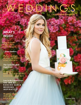 Cavin Elizabeth Summer 2016 Weddings Magazine