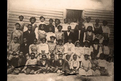 African-American named School Photograph, Paducah Kentucky