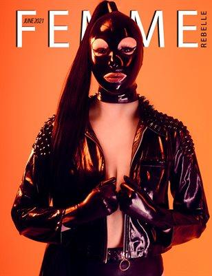 Femme Rebelle Magazine June 2021 REGULAR ISSUE - Stephan Oleara Cover