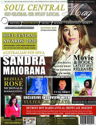 Soul Central Magazine Sandra Pop Diva Edition