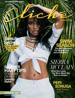 Cliché Magazine - June/July 2017 (Sierra McClain Cover)