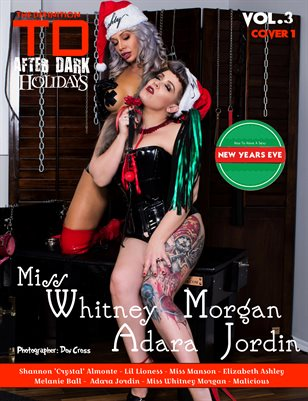 TDM After Dark Adara Jordin -Miss Whitney Morgan Xmas Vol3 cover 1
