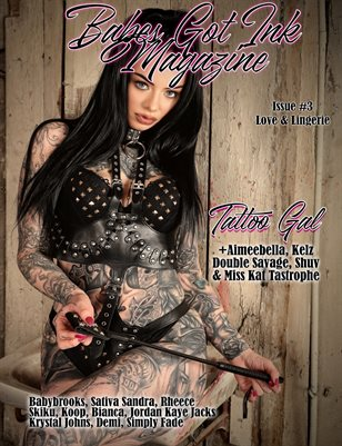 Babes Got Ink Issue #3- Tattoo Gal