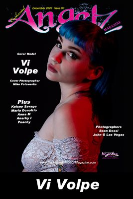 ENCHANTED ANGELZ MAGAZINE COVER POSTER - Cover Model Vi Volpe - December 2020