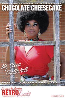 Chocolate Cheesecake 2021 – Vol.1 Mz. Cocoa Chelle Nell Cover Poster