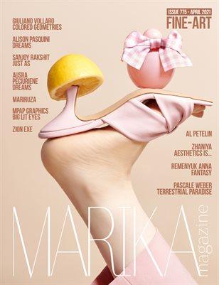 MARIKA MAGAZINE FINE-ART (ISSUE 775 - APRIL)