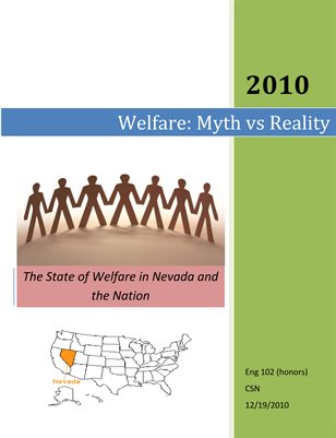 Welfare in Nevada and the Nation