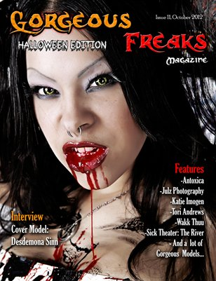 "Issue 11 ""Halloween Edition"" FEMALE COVER"
