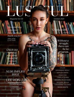 LUSTFUL MAGAZINE - NUDE/IMPLIED ISSUE