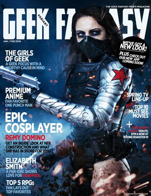 Geek Fantasy - Jan/Feb 2016 Variant