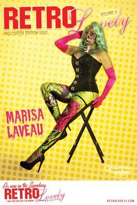 Marisa LaVeau Cover Poster Halloween 2020
