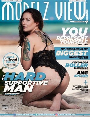 MODELZ VIEW AUG 2019 - ISSUE # 137 - GRAND TATTOOED MODELS SPECIAL EDITION